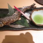 樽寿司  - 鮎の塩焼き