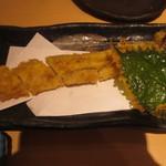 樽寿司  - 穴子の天ぷら