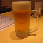 樽寿司  - 生ビール
