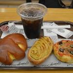 神戸屋スタッツォ - 朝食のパンをいただきました