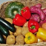 54511677 - 本日使用した野菜の数々が店頭に陳列されていた~♪(^o^)丿