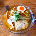 らーめん 三福 - 冷やしらー麺 700円