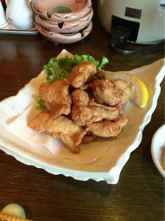 サムライキッチン - 【鶏の唐揚げ】(300円税込)相変わらずしっかりとした美味しさ♪