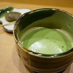 平花とんぼ - 抹茶と南高梅