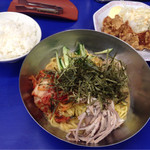 来来亭 - 特製冷麺・から揚げ定食