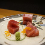 平花とんぼ - マグロの食べ比べ