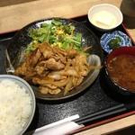 ぽん輔 - ホルモン焼き定食 @890円