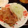 洗濯船 - 料理写真:生姜焼き