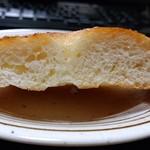 まろん - ジャガイモのパン(断面)