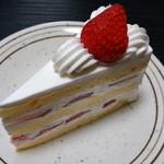ボン・クラージュ! - 苺のショートケーキ(310円)