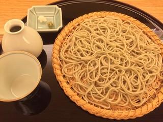 由庵 矢もり - ⑧もり蕎麦(宮崎県都城産)