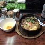 54516376 - 牛すき鍋 350円(;゚Д゚)