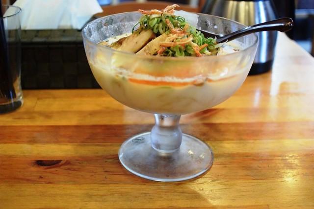 麺場 Voyage - 海老とトウモロコシの冷やし麺950円