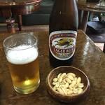 阿蘭陀屋 - ビールとピーナッツ‼︎最高です‼︎