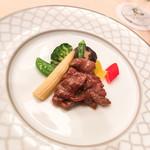 楼蘭 - 牛肉と彩り野菜炒め