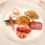 楼蘭 - 冷菜の盛り合わせ