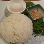 東京十色 恵比寿店 - 薬味雑炊膳