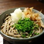 肴魚バル&晴れる家 鯖江店 - ☆〆の越前おろし蕎麦(#^.^#)☆