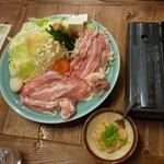 大地 - ちゃんこ鍋一人前2100円