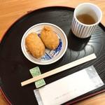 じろばた - 料理写真:そばいなり(110円)×2