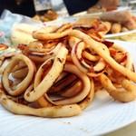 クレールベイサイド ビアガーデン - イカ焼き
