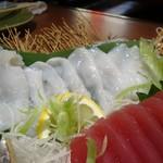 さかな処 魚鐵 - 刺身五種盛り合わせ:たこ