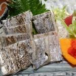 さかな処 魚鐵 - 刺身五種盛り合わせ:太刀魚