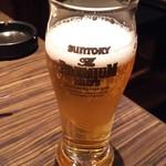 水たき いろは - 1607_いろは_瓶ビール@700円