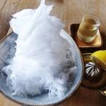 松華堂菓子店 - 氷はちみつ