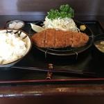 とんかつ ふじ - ロースかつ膳150g(1,300円)