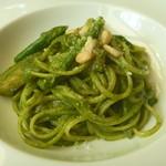 カステッロ - 夏野菜のジェノベーゼ リングイネ