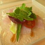 カステッロ - 銚子産金目鯛のカルパッチョ