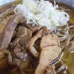 冷たい肉蕎麦専門店かほく - 冷やし肉そば(拡大)