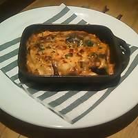ダリアロッソ - ポルチーニ茸と秋茄子のラザニア