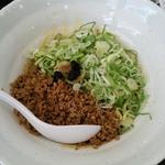 ヤマネ - 汁なし坦坦麺 590円