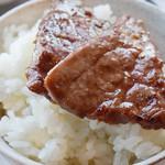 尾崎牛焼肉 銀座 ひむか - 焼肉ご飯