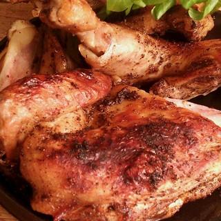 国産銘柄鶏をつかったローストチキン