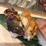 鮨 逸喜優 - 穴子(塩、タレ)