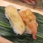 鮨 逸喜優 - 料理写真:烏賊、海老