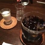 カフェ・ド・パルファン - アイスコーヒー