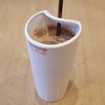 MAX BRENNER CHOCOLATE BAR - アイスチョコレートミルク(600円)