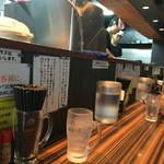 ラーメンつけ麺 笑福 - 店内 雰囲気