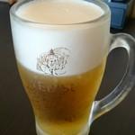 杉戸天然温泉雅楽の湯 みやび - ドリンク写真:生ビール。
