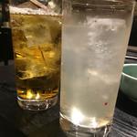 禅 - グレープフルーツハイ、ウーロン茶