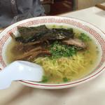 丸嶋 - 塩ラーメン500円