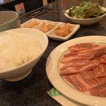 焼肉 叙庵 - ランチセット
