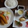 洋食Kitchen Hiro - 料理写真:海老フライとヒレカツランチ