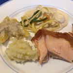 レストラン ストックホルム - スモーガスボードランチ(¥3,000) 魚料理