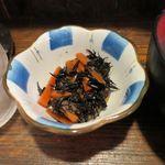 梅月 - 小鉢(ヒジキ)_2015/08