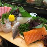 寿司一 - 刺し盛りーーー!!